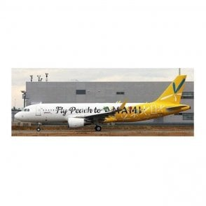 "JC Wings 1:200 Airbus A320 Peach Aviation ""Fly Peach to AMAMI"" - Reg JA08VA"