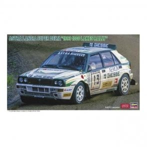 Hasegawa 1:24 Astra Lancia Super Delta 1993 1000 Lakes Rally Car Model Kit