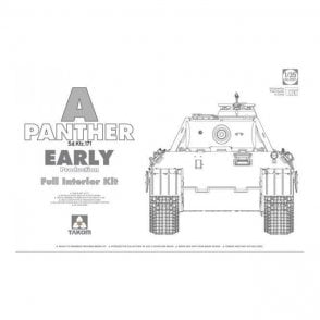 Takom 1:35 Sd.Kfz 171 Panther A Early & Full Interior Model Military Kit