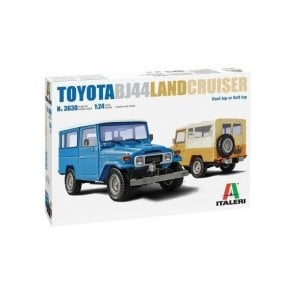 Italeri 1:24 Toyota BJ44 Land Cruiser Car Model Kit