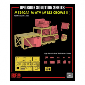 Rye Field Model 1:35 Upgrade Etch Parts Set For RM5032 & RM5052 M-ATV Military Model Kit