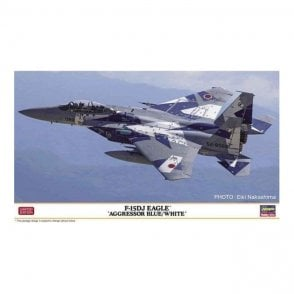 Hasegawa 1:72 F-15DJ Eagle Aggressor Blue/White Aircraft Model Kit