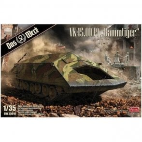 "Das Werk 1:35 VK45.01(P) ""Rammtiger"" Military Model Kit"
