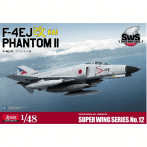 Zoukeimura 1:48 Super Wing Series F4 Phantom II F-4EJ Kai Japanese Air Force Aviation Kit
