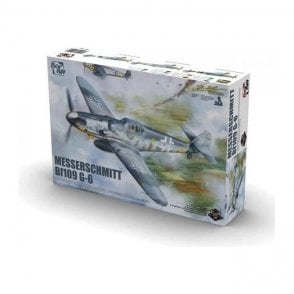 Border Models 1:35 Messerschmitt Bf109 G-6 Aircraft Model Kit