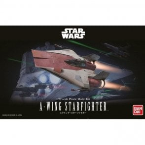 Revell Bandai 1:72 A-Wing Starfighter Star Wars Kit