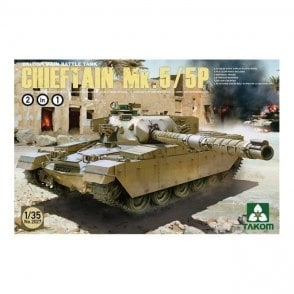 Takom 1:35 Chieftain Mk 5/5P Model Military Kit