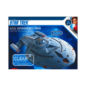 Polar Lights 1:1000 Star Trek U.S.S. Voyager Clear Edition Model Kit
