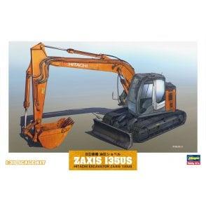 Hasegawa 1:35 Hitachi Excavator ZAXIS135US Model Kit