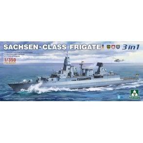 Takom 1:350 SAXONY CLASS FRIGATE 3 IN 1 Ship Model Kit
