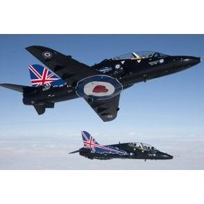 Italeri 1:48 RAF BaE Hawk T. Mk. 1 - 3 RAF Livery Decals Aircraft Model Kit