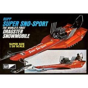 MPC 1:20 Rupp Super Sno-Sport Snow Dragster Model Kit