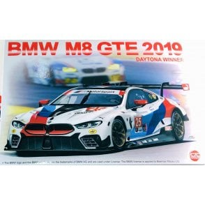 NUNU 1:24 BMW M8 GTE Daytona Winner Car Model Kit