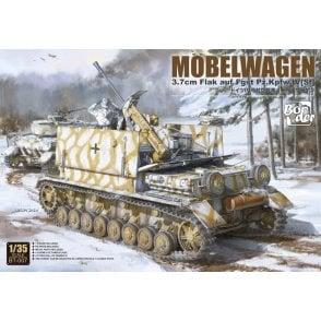 "Border Models 1:35 ""Möbelwagen"" 3.7cm Flak on chassis Pz.Kpfw. IV (Sf) Military Model Kit"