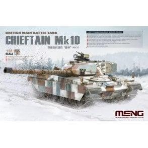 Meng Models 1:35 Chieftain Mk.10 British Main Battle Tank Military Model Kit