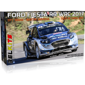 Belkits 1:24 Ford Fiesta RS WRC 2017 Tour de Corse 2017 Car Model Kit