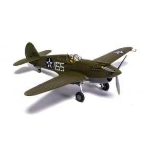 Corgi 1:72 P-40 Warhawk 2nd Lieutenant Kenneth Taylor, US Army Air Corps' 47th Pursuit Sqn, Wheeler Field, April 1941  ' Pearl Harbor 80th Anniversary '