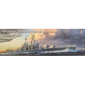 Very Fire 1:350 USS Birmingham US Navy Light Cruiser CL-62 Model Ship Kit