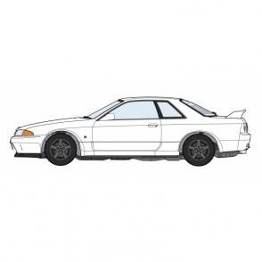 Hasegawa 1:24 Nissan Skyline GT-R BNR32 Car Model Kit
