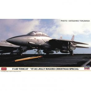 Hasegawa 1:72 F-14B Tomcat VF-103 Jolly Rogers Xmas Special Aircraft Model Kit