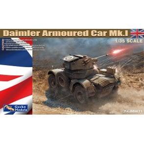 Gecko Models 1:35 Daimler Armored Car Mk.I Military Model Kit