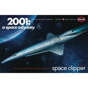 Moebius Models 1:72 Space Clipper Orion from 2001: A Space Odyssey Model Kit