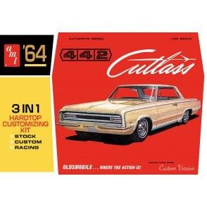 AMT 1:25 1964 Olds Cutlass 442 Hardtop Car Model Kit