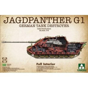 Takom 1:35 Jagdpanther G1 Late Prod. - full Interior Model Military Kit