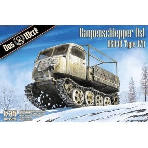 Das Werk 1:35 Raupenschlepper Ost 9 RSO/01 Type 470 Military Model Kit