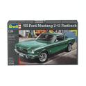 Revell 1:24 1965 Ford Mustang 2+2 Fastback Model Car Kit