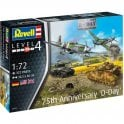 Revell 1:72 Gift Set D-Day 75th Anniversary Aircraft Model Kit
