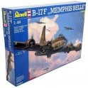 Revell 1:48 B-17F Flying Fortress Memphis Belle Model Aircraft Kit