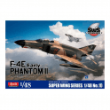 Zoukeimura 1:48 Super Wing Series McDonnell Douglas F4-E Phantom II Early Aviation Kit