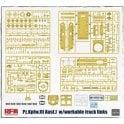 Rye Field Model 1:35 Pz. Kpfw. III Ausf. J Workable Track Links & Torsion Bar Suspension System Military Model Kit