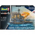 Revell 1:350 HMS Dreadnought Model Ship Kit