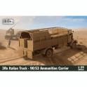 IBG 1:35 3Ro Italian Truck - 90/53 Ammunition Carrier Military Model Kit