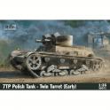 IBG 1:35 7TP Polish Tank -Twin Turret (Early Production) Military Model Kit