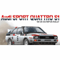 NUNU 1:24 AUDI Quattro S1 ' 86 Olympus Rally ' Car Model Kit