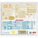 Rye Field Model 1:35 Tiger I 100# initial production early 1943 Military Model Kit