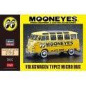 Hasegawa 1:24 VW Type 2 Micro Bus - Mooneyes Car Model Kit