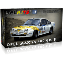 Belkits 1:24 Opel Manta 400 GR. B Tour de Corse 1984 Car Model Kit