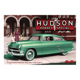 Moebius Models 1:25 1954 Hudson Hornet Special Car Model Kit