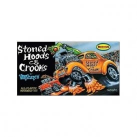 "Moebius Models 1:25 Von Franco ""Stoned Hoods and Crooks"" Car Model Kit"