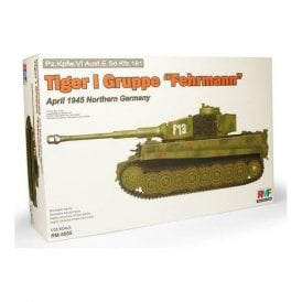 "Rye Field Model 1:35 Tiger I Gruppe ""Fehrmann"" April 1945 Northern Germany Military Model Kit"
