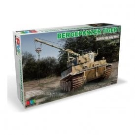 Rye Field Model 1:35 Bergepanzer Tiger I Sd.Fkz 185 Italy 1944 Military Model Kit