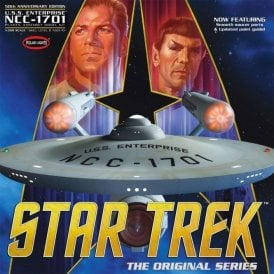 Polar Lights 1:350 Star Trek TOS Enterprise 50th Anniversary Edition Model Kit