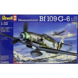 Revell 1:32 Messerschmitt BF109G-6 Late & early Ver. Model Aircraft Kit