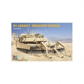 Rye Field Model 1:35 M1 Assault Breacher Vehicle Military Model Kit