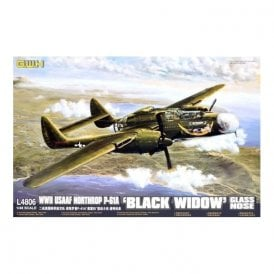 Great Wall Hobby 1:48 P-61A Black Widow `Glass nose` US Army Aircraft Model Kit