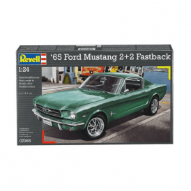 Revell 1:24 1965 Ford Mustang 2+2 Fastback Model Car Kit